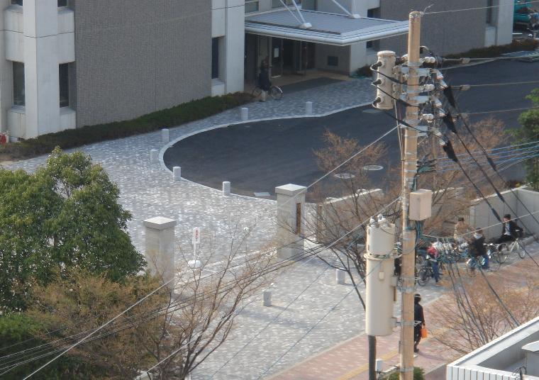 修猷館高校 正門 2008年1月9日